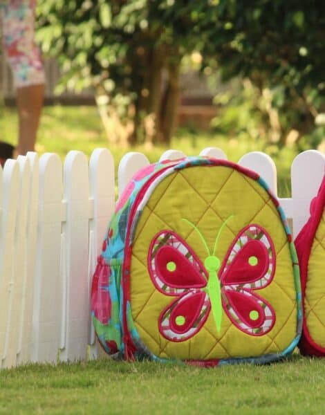Personalized Backpack- Toddle bag- Butterfly