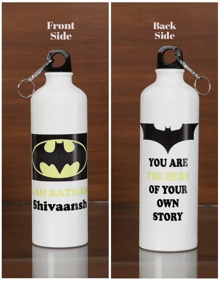 Personalized Steel Bottle- Batman