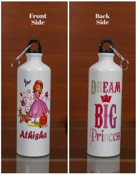 Personalized Steel Bottle- Princess